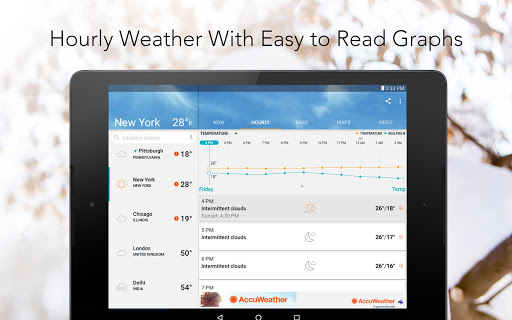 AccuWeather: Daily Forecast & Live Weather Maps screenshot