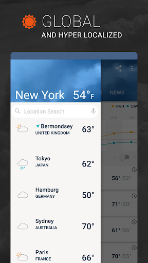 AccuWeather: Weather Radar & Live Forecast Maps screenshot