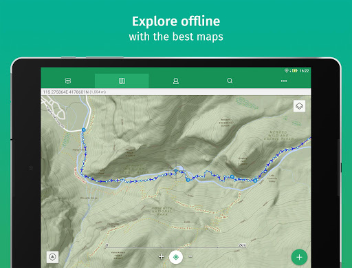 ViewRanger: Trail Maps for Hiking, Biking, Skiing screenshot