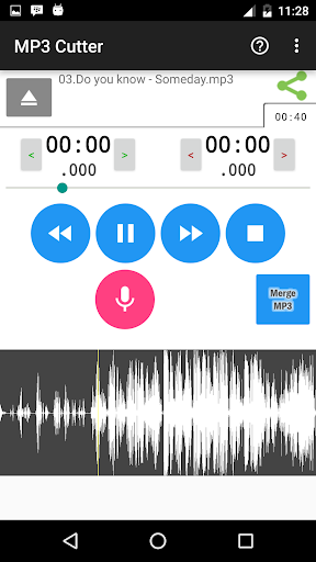 MP3 Cutter screenshot