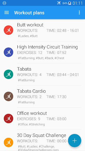 Home workouts - lose weight, abs, legs, arms,chest screenshot