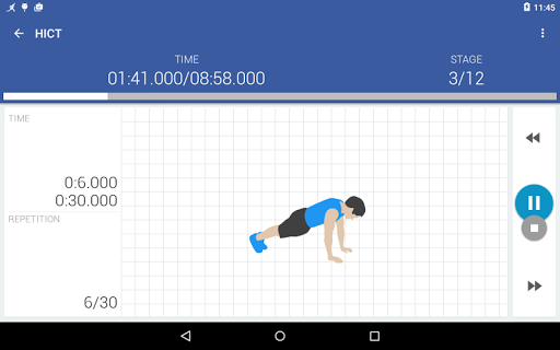 Home workouts - Abs, Butt, Chest, Lose Weight screenshot