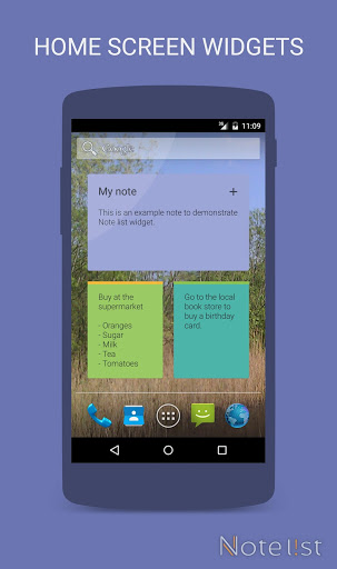 Note list - Notes & Reminders screenshot