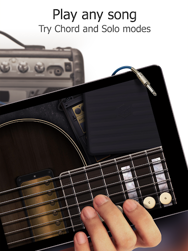 Real Guitar Free - Chords, Tabs & Simulator Games screenshot