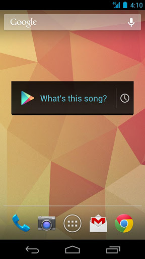 Sound Search for Google Play screenshot