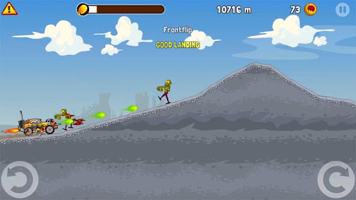 Zombie Road Trip screenshot