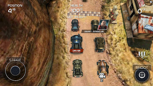 Death Rally screenshot