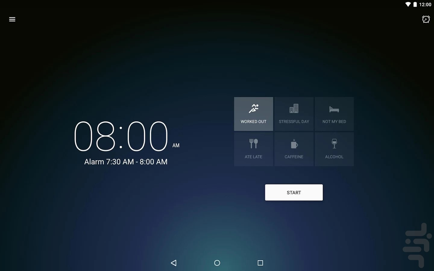 Runtastic Sleep Better screenshot