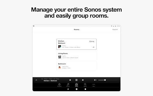 Sonos Controller for Android screenshot