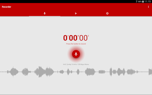 Voice Recorder Pro screenshot