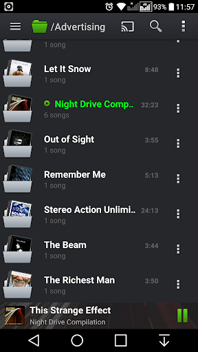 PlayerPro Music Player (Free) screenshot