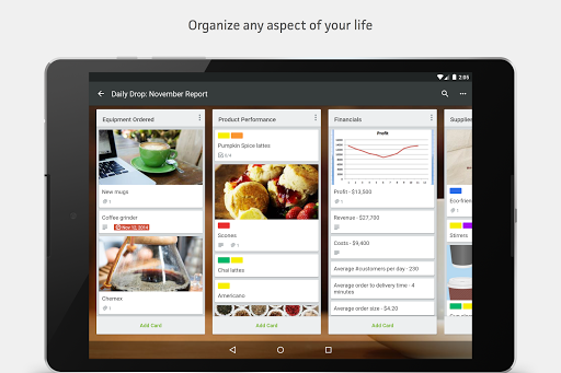Trello screenshot