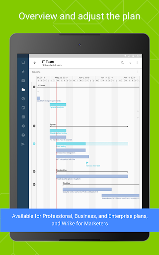 Wrike - Project Management screenshot