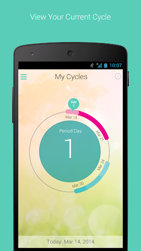 My Cycles Period and Ovulation screenshot
